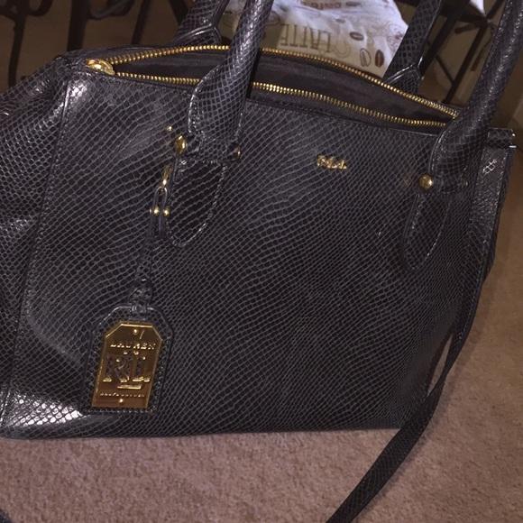 Ralph Lauren RRL Handbags - Ralph Lauren leather skin bag